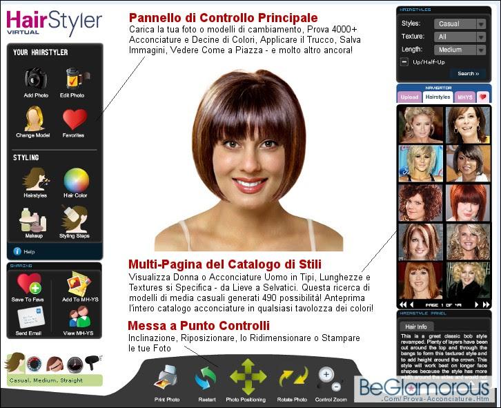 cambiare il colore dei capelli online - Come cambiare look senza rischi col simulatore virtuale
