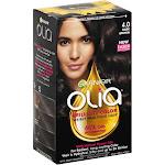 Olia Brilliant Color Permanent Haircolor, Dark Brown 4.0