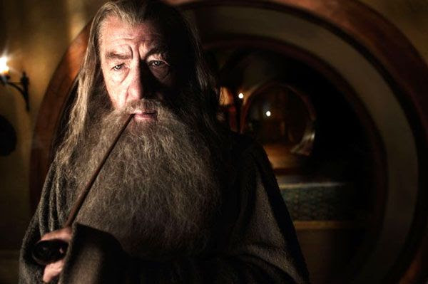 Sir Ian McKellen reprises his role as Gandalf the Grey in THE HOBBIT: AN UNEXPECTED JOURNEY.