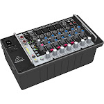 Behringer Europower PMP500MP3 8-Channel Powered Analog Mixer - 500W - Rack-mount