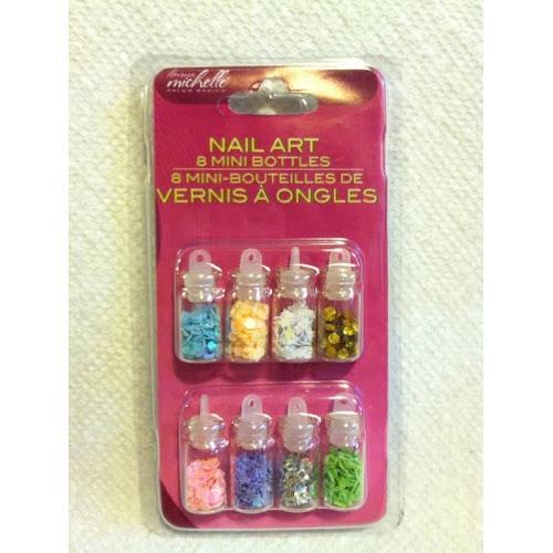 Google Express China Nail Art 8 Mini Bottles Of Manicure Micro Beads
