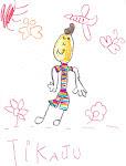 Desenho de uma aluna.