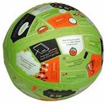 Group Publishing 105065 Toy - Throw & Tell Life Applications Ball, Size: One Size
