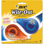 BiC Wite-Out Correction Tape - 2 count