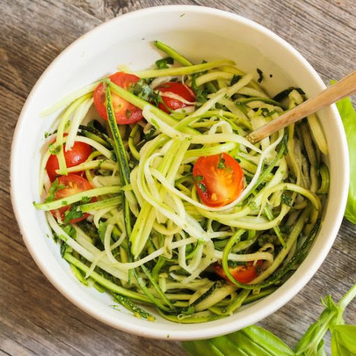 Recipe: Zucchini Noodles with Pesto - Partnership for a Healthier America