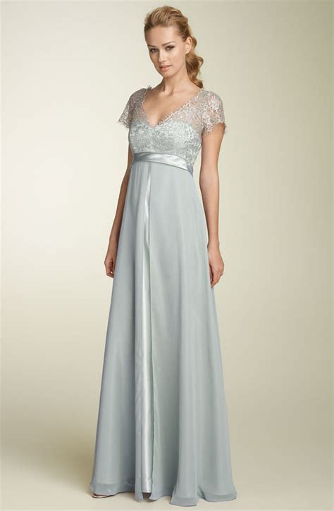 light blue vintage lace bridesmaid dress ? Cherry Marry
