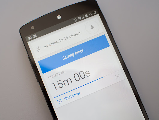 Google Now alarms and timers lose hands-free ability for some in latest update