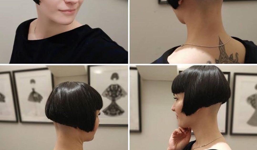 Ausrasieren bob nacken Nacken Frisuren
