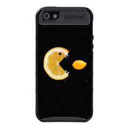 Protective Funny Lemon Eats Lemon iPhone 5 Covers