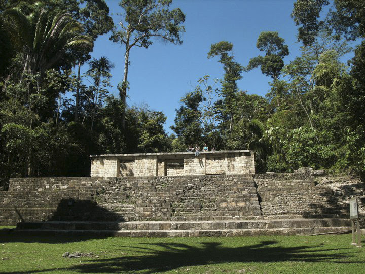 the ruins of aguateca