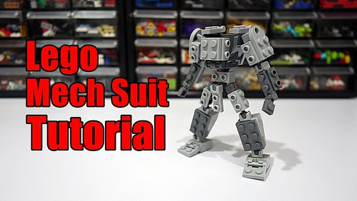 Lego Mech Suit Frame Made A Simple Mech Suit Frame Kept