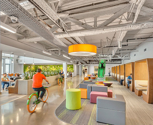 Interface Reports on Impact of Nature in Office Design