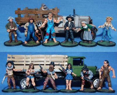 BMM405 Hillbillys Box 1 - The Hardfelts