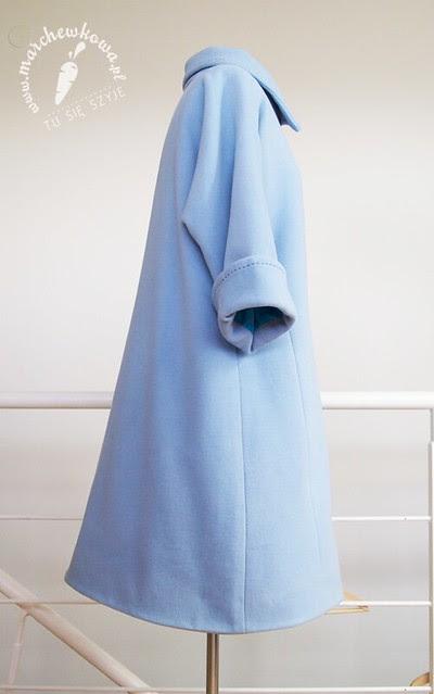 szyciowy blog roku 2012, moda, 50s, 60s, vintage, retro, szycie, sewing, krawiectwo, pattern, Burda Style, Jackie Kennedy Style Coat