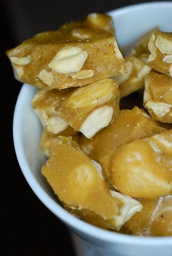marcona almond brittle