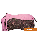 Tough-1 Timber 600D Ripstop Poly Water Repellent Horse Sheet 78inch, Pink