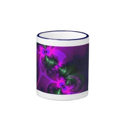 Purple Imp – Violet and Magenta Ribbons Mug