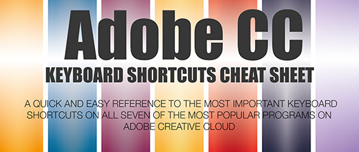 Free Keyboard Shortcuts Inforgraphic For Adobe Apps
