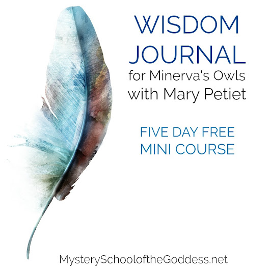 Wisdom Journal for Minerva's Owls by Mary Petiet