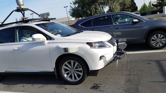 Check Out The Lexus That Apple's Using to Test Self-Driving Car Technology