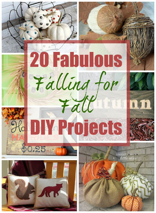 20 Fabulous Fall DIY Projects - House by Hoff