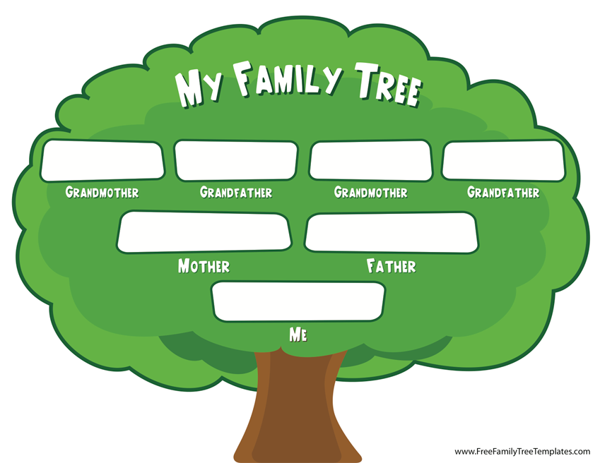 Family Tree Craft For Preschoolers