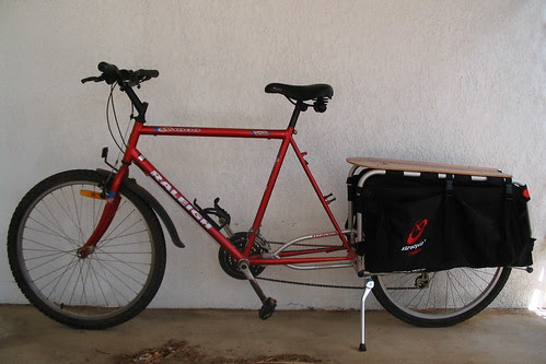 the Xtracycle fitted