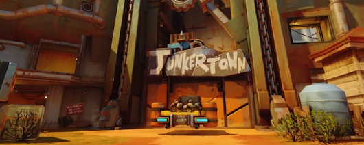 Overwatch players can now visit Junkertown