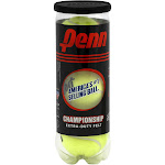 Penn Championship Extra Duty Felt Tennis Ball - 3 count