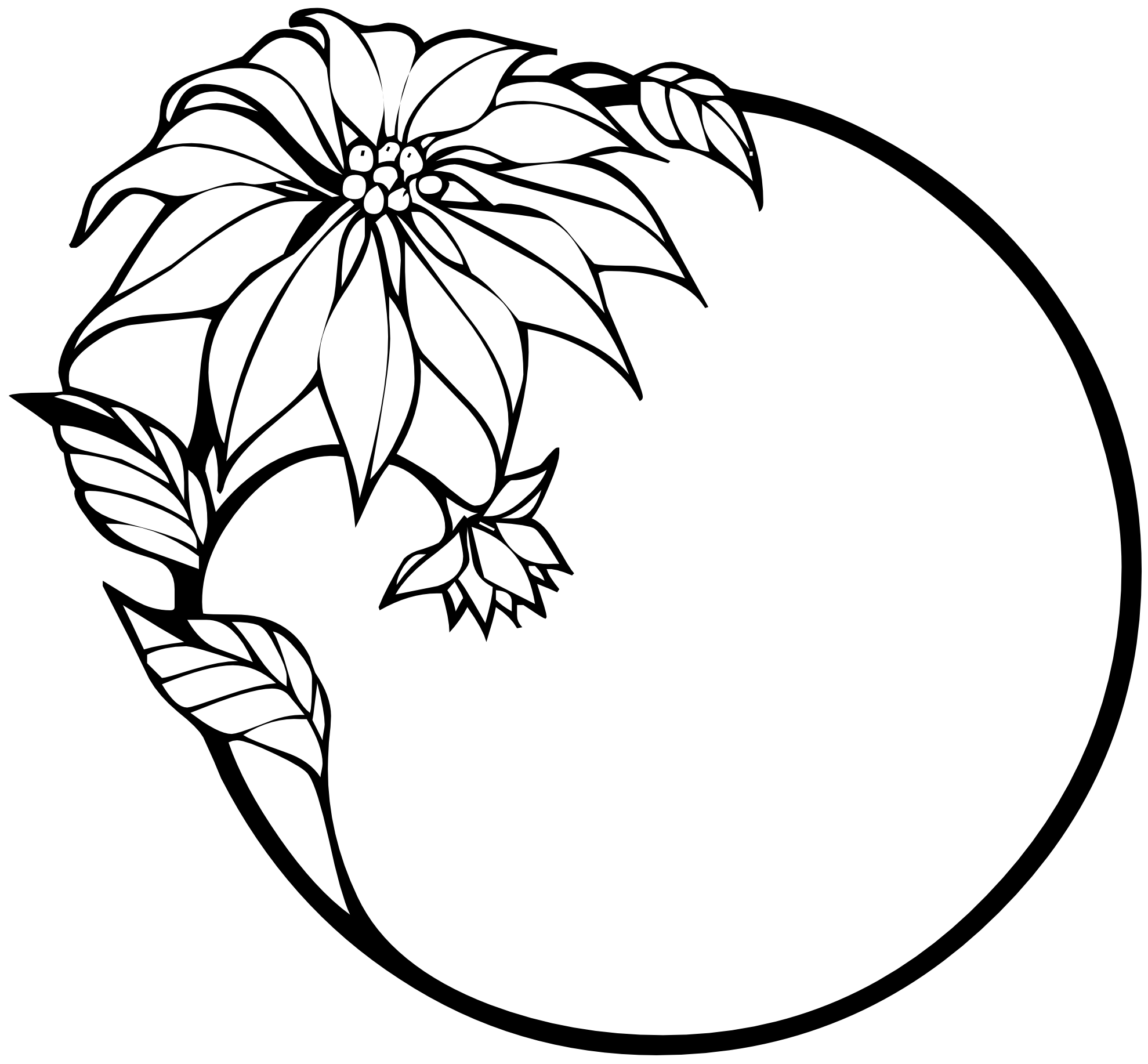 Free Black And White Flower Designs Download Free Clip Art Free Clip Art On Clipart Library
