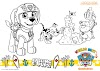 Ausmalbilder Mighty Pups Sky - Ausmalbild Paw Patrol Skye Ausmalbilder Kostenlos Zum Ausdrucken