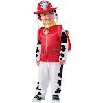 Paw Patrol Child's Marshall The Dalmatian Costume Small 4-6