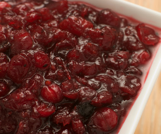 Cranberry Sauce from Scratch