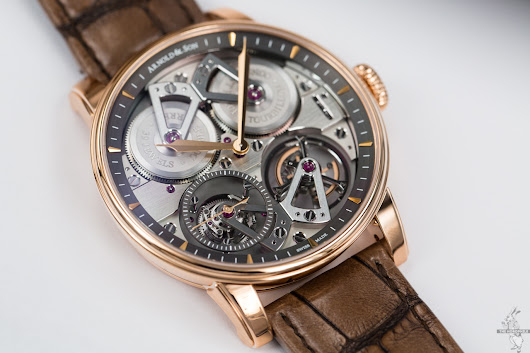 Arnold & Son Constant Force Tourbillon - The Horophile