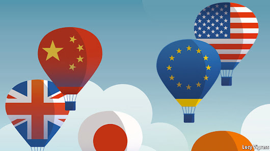 On the rise: The global economy enjoys a synchronised upswing | The Economist