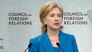 Talking about the CFR used to bring on the tin foil hat comments. Now this criminal organization and its minions are fully exposed as evidenced by Hillary giving her Secretary of State Farewell Address to the organization on January 31, 2013.