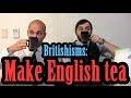 特別說說茶的英文