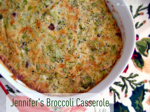 Jennifer's Broccoli Casserole