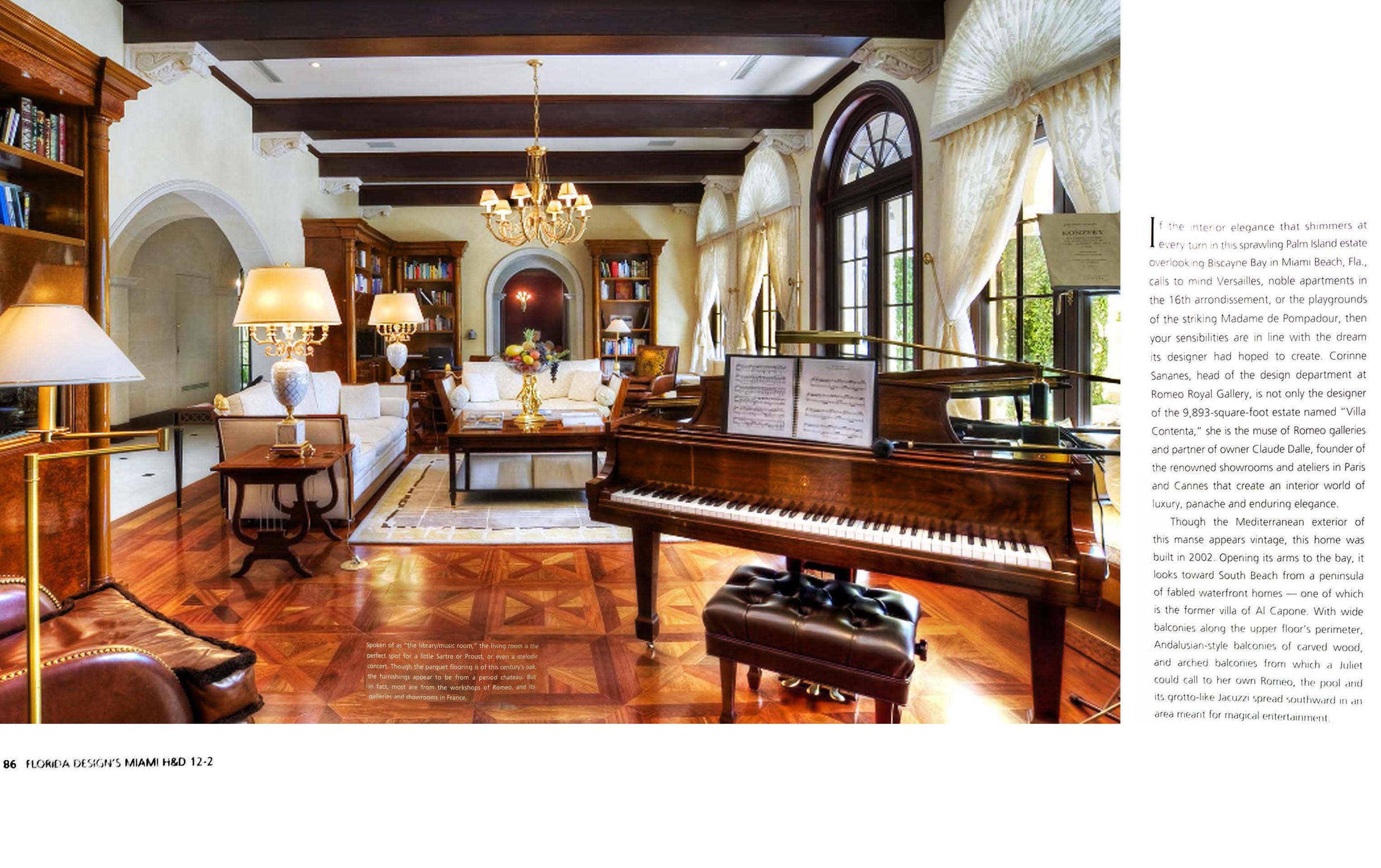 FLORIDA DESIGN'S MIAMI HOME AND DÉCOR | Miami Design Villa