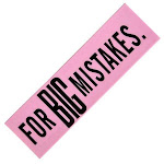 Big Mistake Eraser