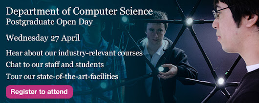 Postgraduate Open Day - Computer Science, The University of York