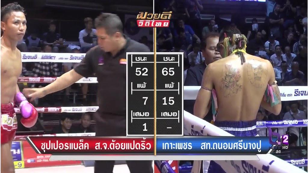 ศึกมวยดีวิถีไทยล่าสุด 4/4 12 กุมภาพันธ์ 2560 มวยไทยย้อนหลัง Muaythai HD - YouTube
