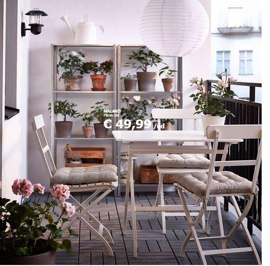 Hogarisimo decoraci n de balcones y terrazas peque as - Decoracion terrazas pequenas ...