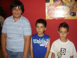 Alshameary, Romen y Rafa . Linares 2007