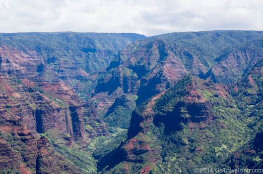 Waimea Canyon & Kokee State Park in Kauai Hawaii
