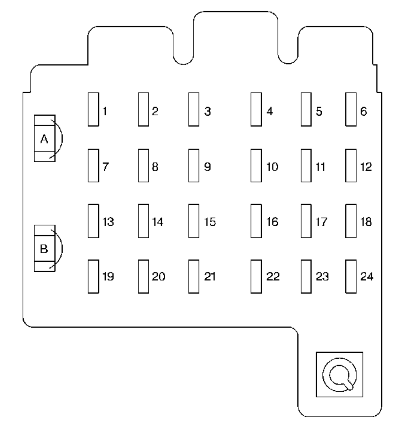 Chevrolet Suburban 1999 Fuse Box Diagram Auto Genius