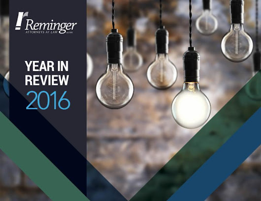 Reminger Co., LPA's 2016 Year in Review