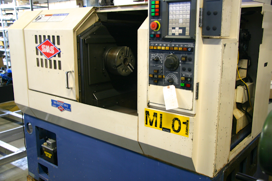 Used Miyano CNC Lathe LZ-02 (MI01) - SMS Machine Tools Ltd.