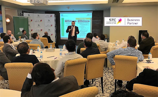 AlJammaz Distribution & STC Business organized STC Business Reseller Program Event for the SME for AlKhobar Resellers at the Intercontinental Hotel Al Khobar
