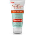 Neutrogena Oil-Free Acne Stress Control Power-Cream Wash, 6 Fl. Oz